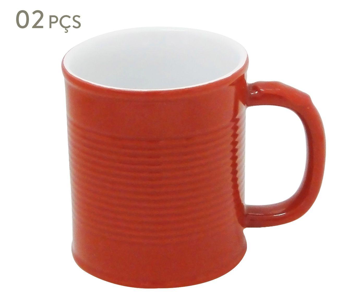Conjunto de Canecas Espalier rouge - 250 ml | Westwing.com.br
