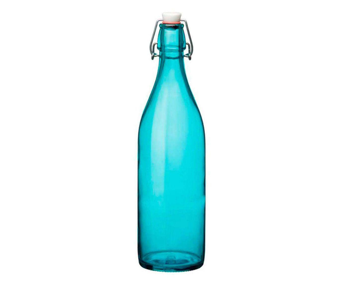Garrafa Giara Azul - 1L   Westwing.com.br