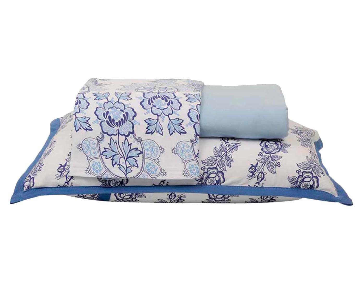 Jogo de lençol porcelana - para cama king size   Westwing.com.br