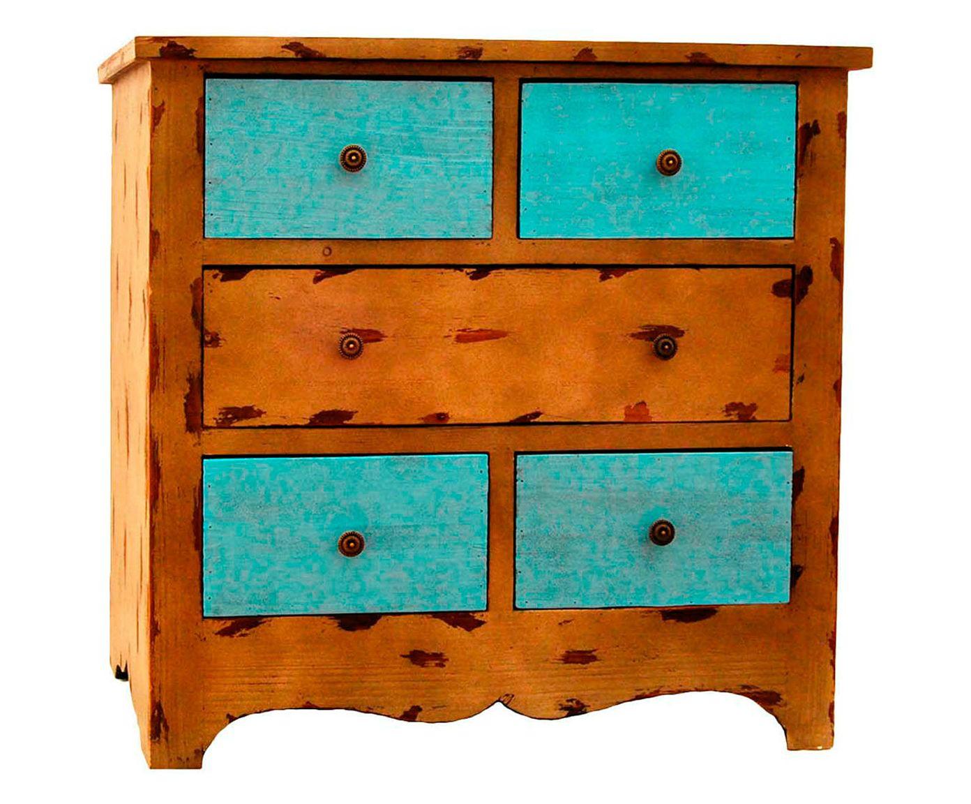 Cômoda Chioquetti - Azul Turquesa | Westwing.com.br