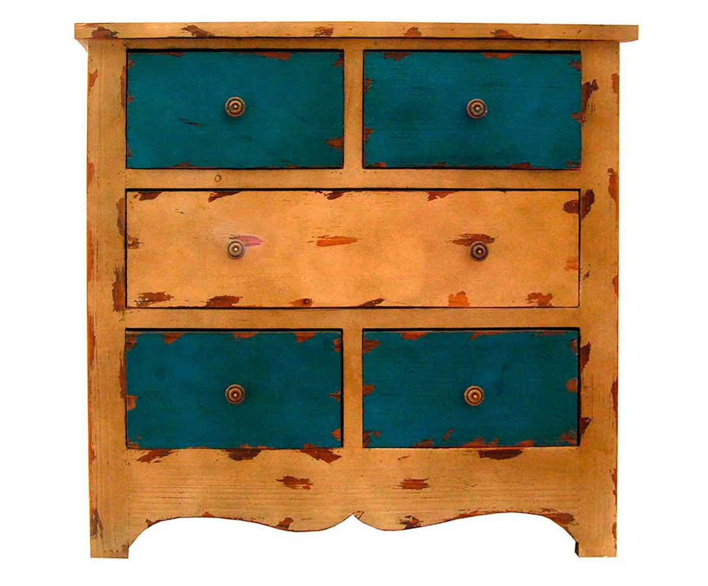 Cômoda Chioquetti - Azul | Westwing.com.br