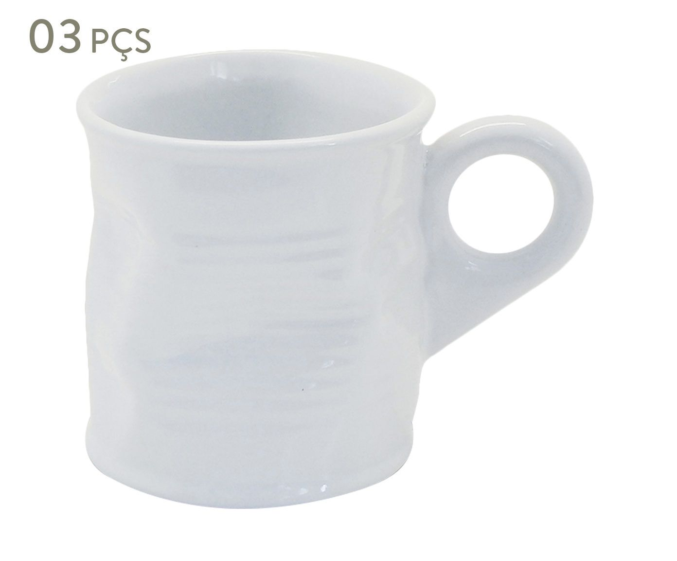 Conjunto de Xícaras para café Smashed - union 70 ml   Westwing.com.br