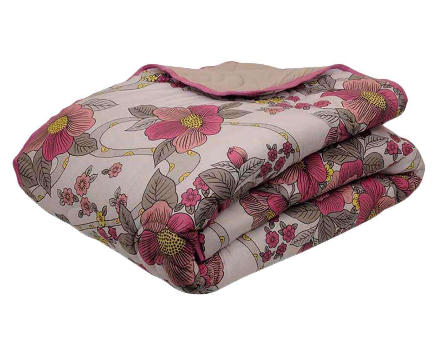 Edredom flowers - para cama de solteiro   Westwing.com.br