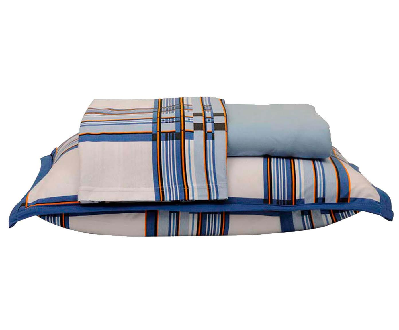 Jogo de lençol bad men - para cama de solteiro   Westwing.com.br
