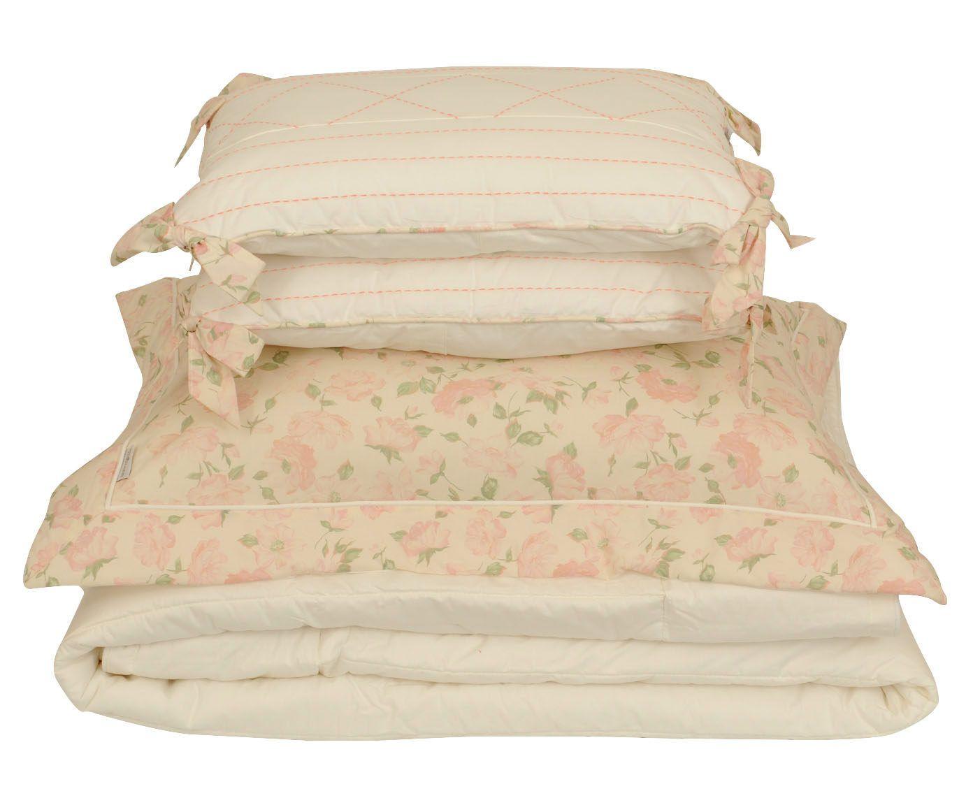 Jogo com colcha mahina para cama super king size 200 fios   Westwing.com.br