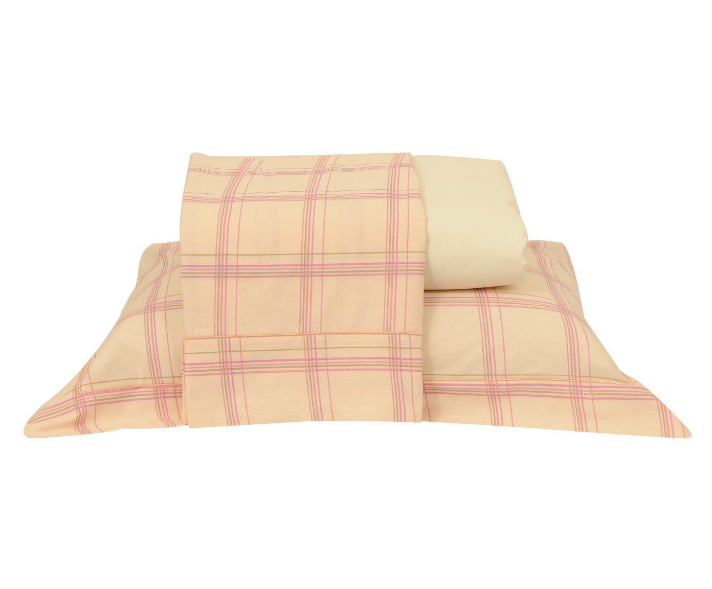 Jogo de lençol versatt stripes para cama de casal - effect | Westwing.com.br