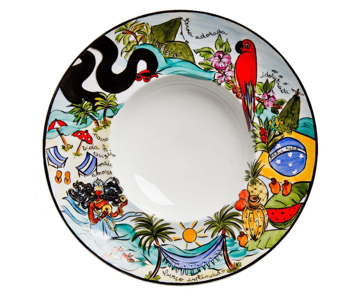 Prato gourmet iemanja brasileirinho - patricia virmond | Westwing.com.br