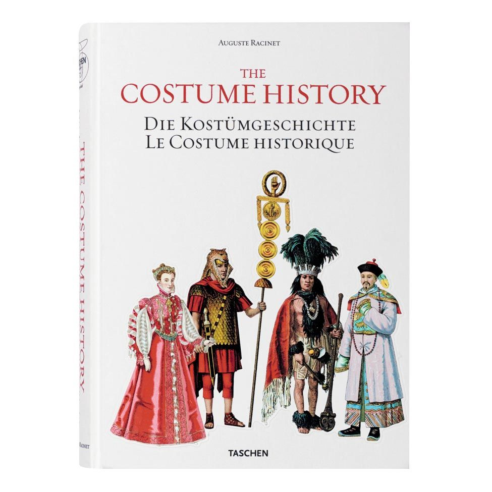 Livro the costume history | Westwing.com.br