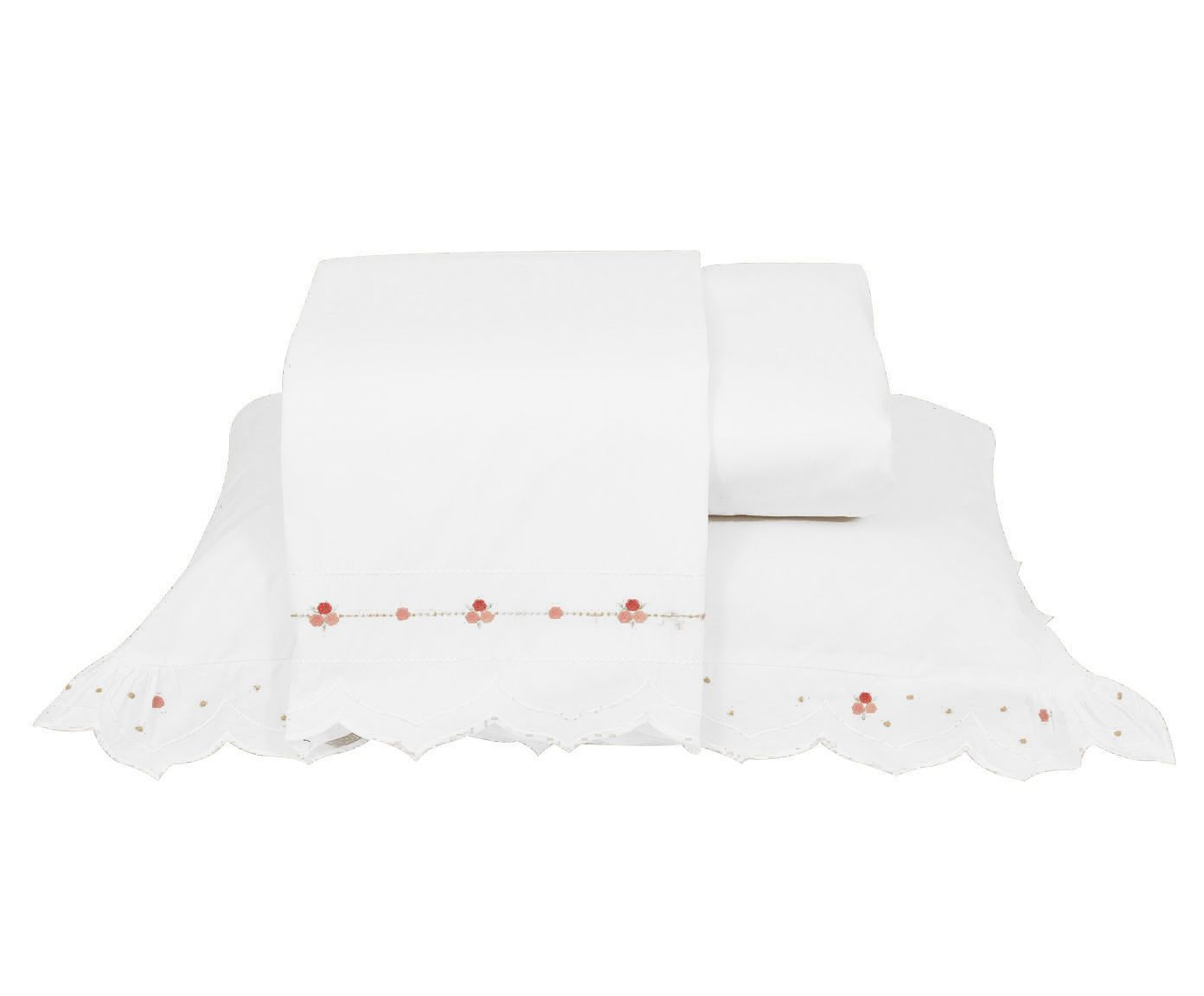 Jogo de Lençol Supreme Branco 200 Fios - King Size | Westwing.com.br