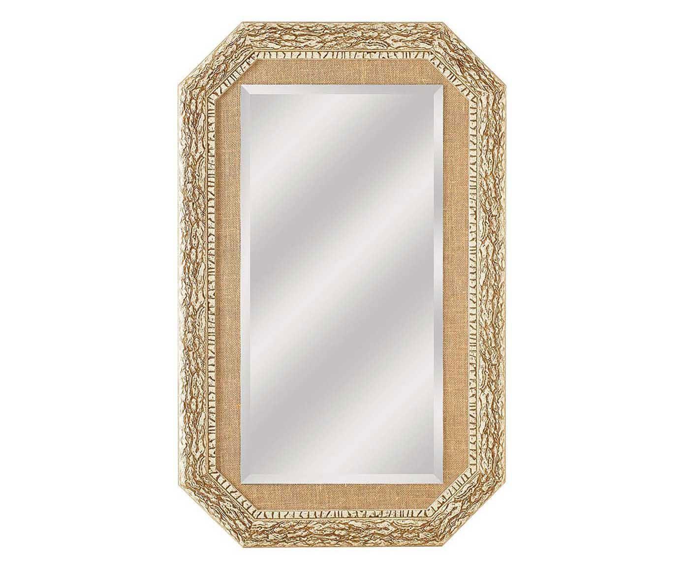 Espelho de Parede Stones Land Bege - 82X132cm   Westwing.com.br