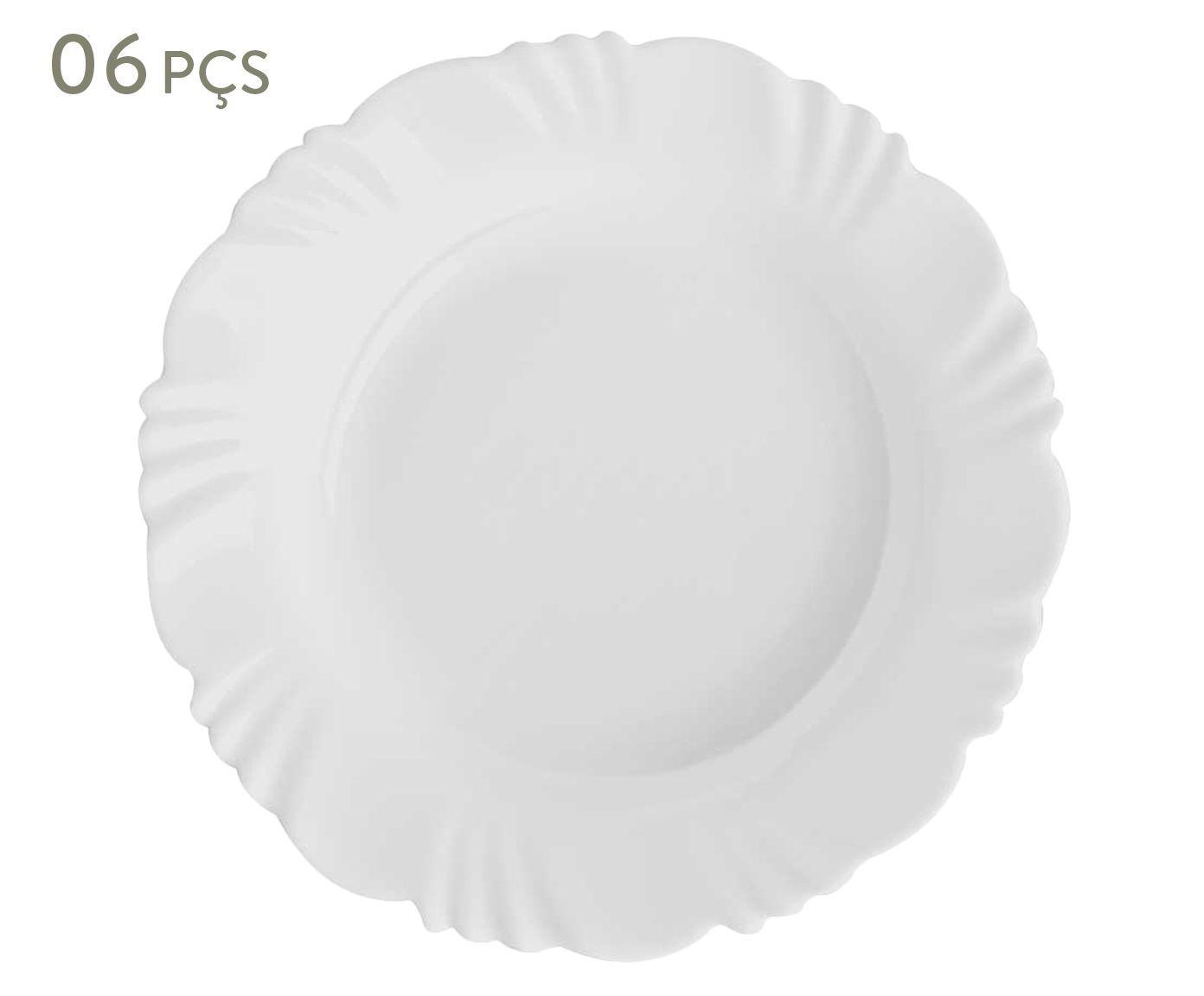 Conjunto de pratos fundos bott - duralex   Westwing.com.br