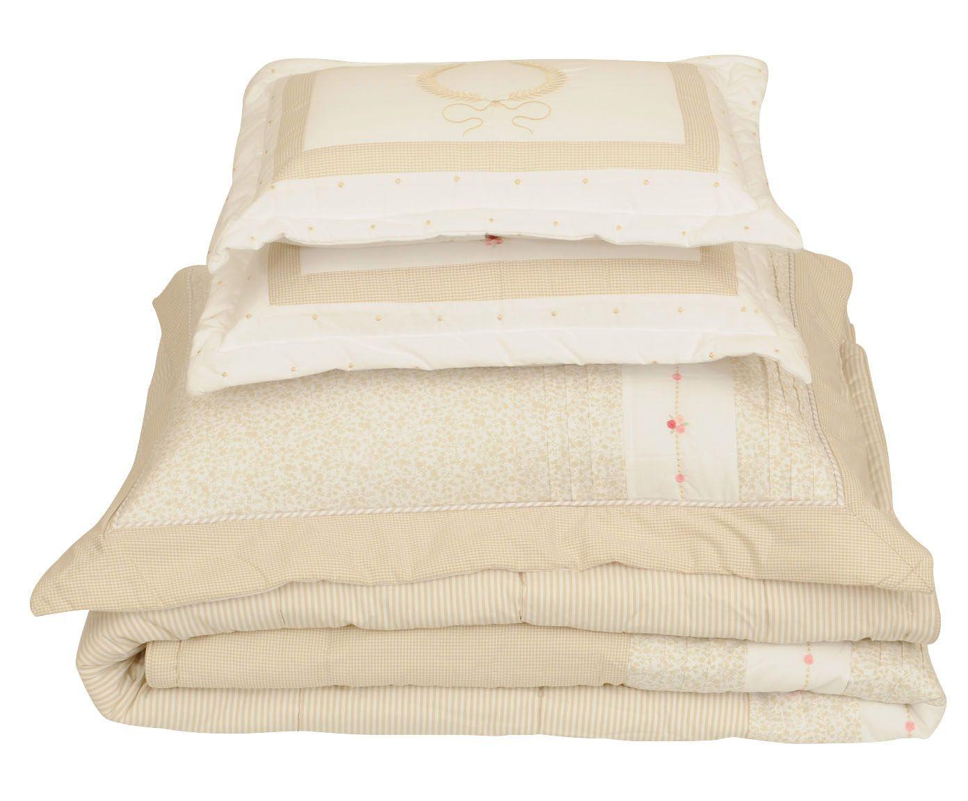 Jogo com colcha supreme para cama super king size 200 fios   Westwing.com.br