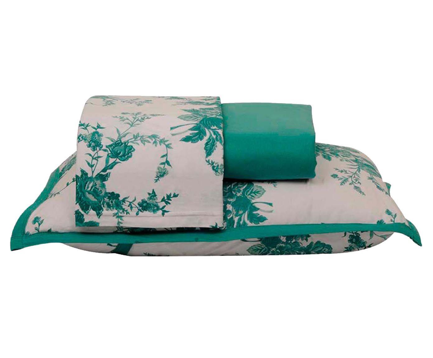 Jogo de lençol bouquet - para cama king size   Westwing.com.br