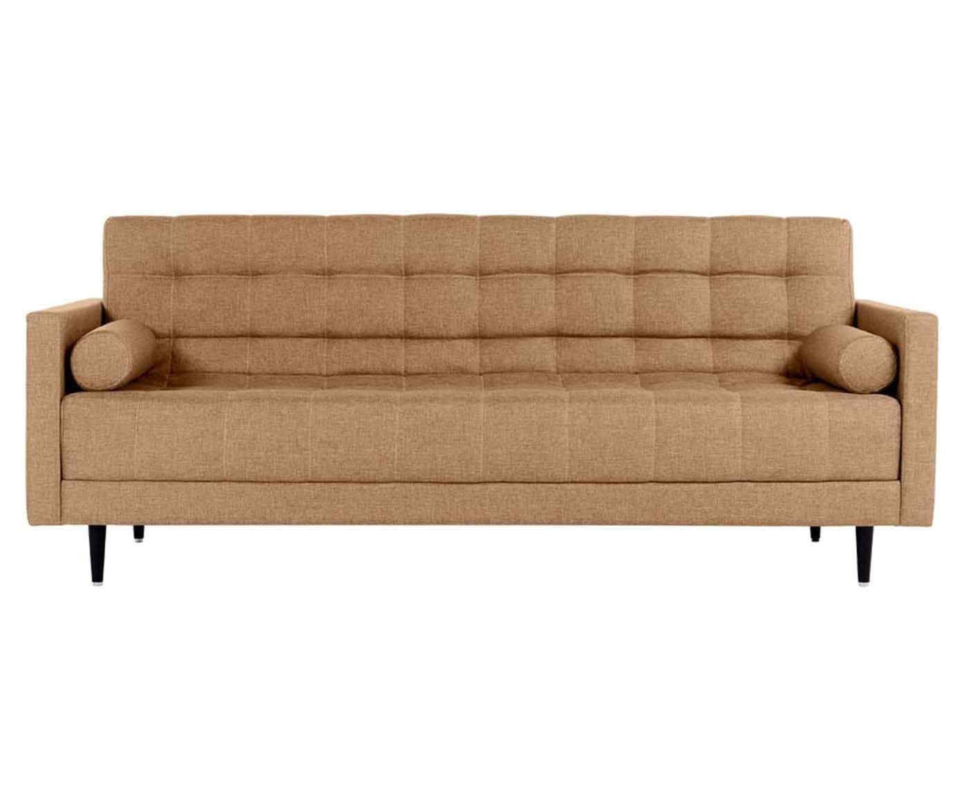 Sofá-cama viena linho - creme   Westwing.com.br