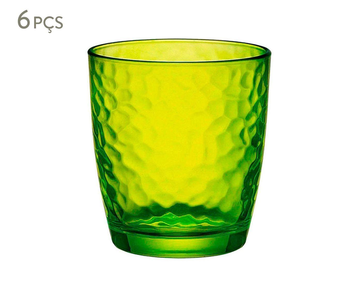 Jogo de Copos para Água Palatina Verde - 230ml | Westwing.com.br