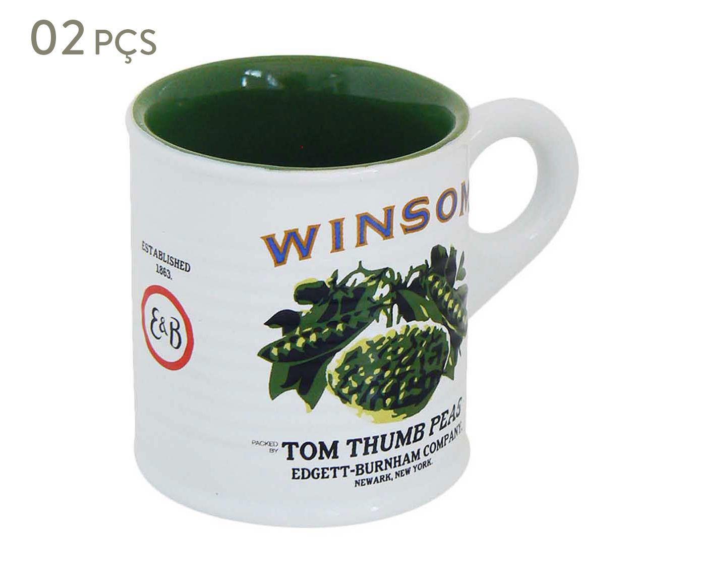 Conjunto de Xícaras para café winsom - 70 ml   Westwing.com.br