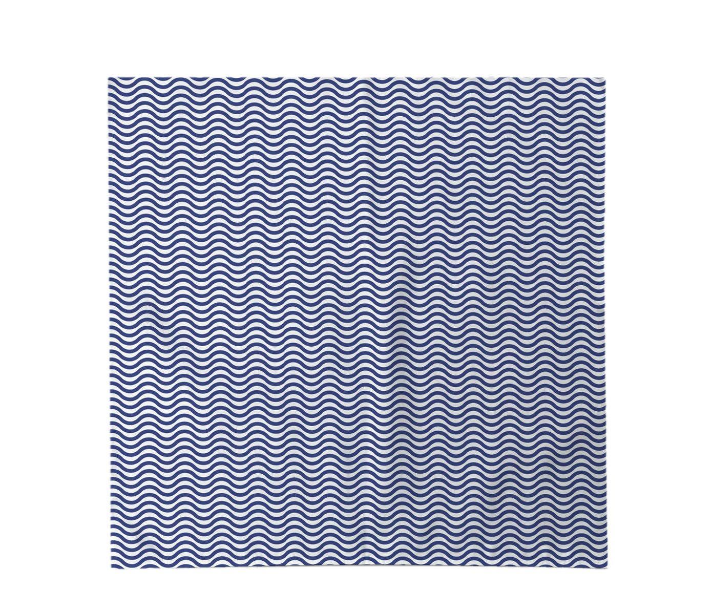 Guardanapo Ondas Azul - 45x45cm | Westwing.com.br