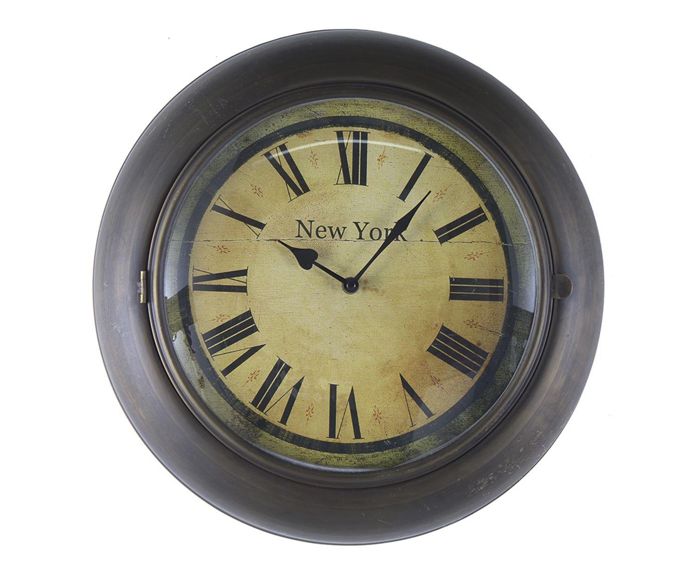 Relógio de Parede New York Oldway   Westwing.com.br