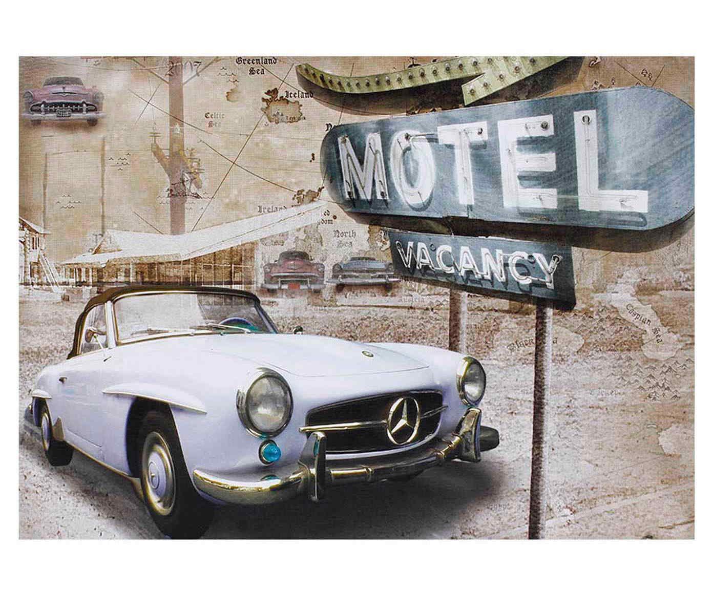 Tela Impressa Car Vacancy - 70x50cm | Westwing.com.br