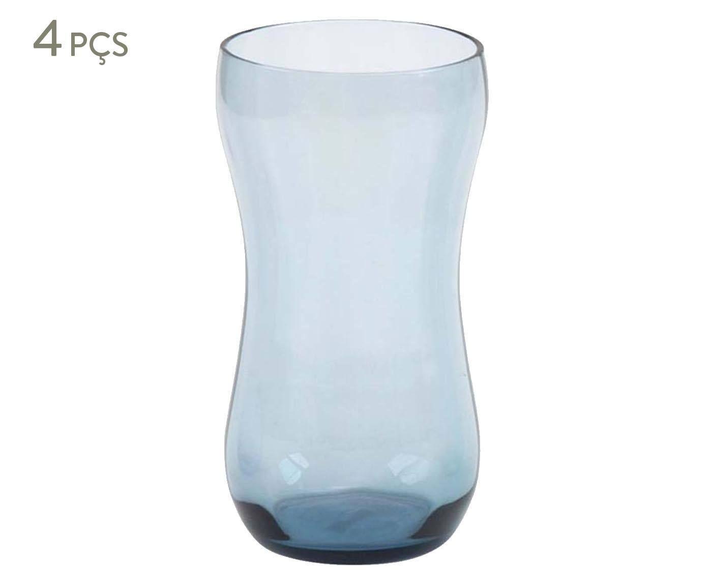 Jogo de Copos Optical Silhouete Mist - 320ml | Westwing.com.br