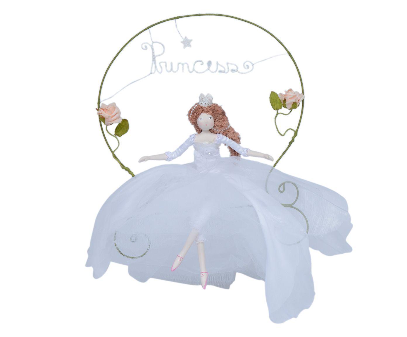 Escultura Princesa No Arco   Westwing.com.br