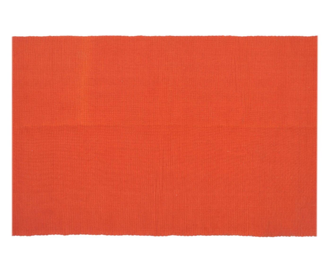 Tapete Indiano Daksha Terracota - 60x90cm | Westwing.com.br