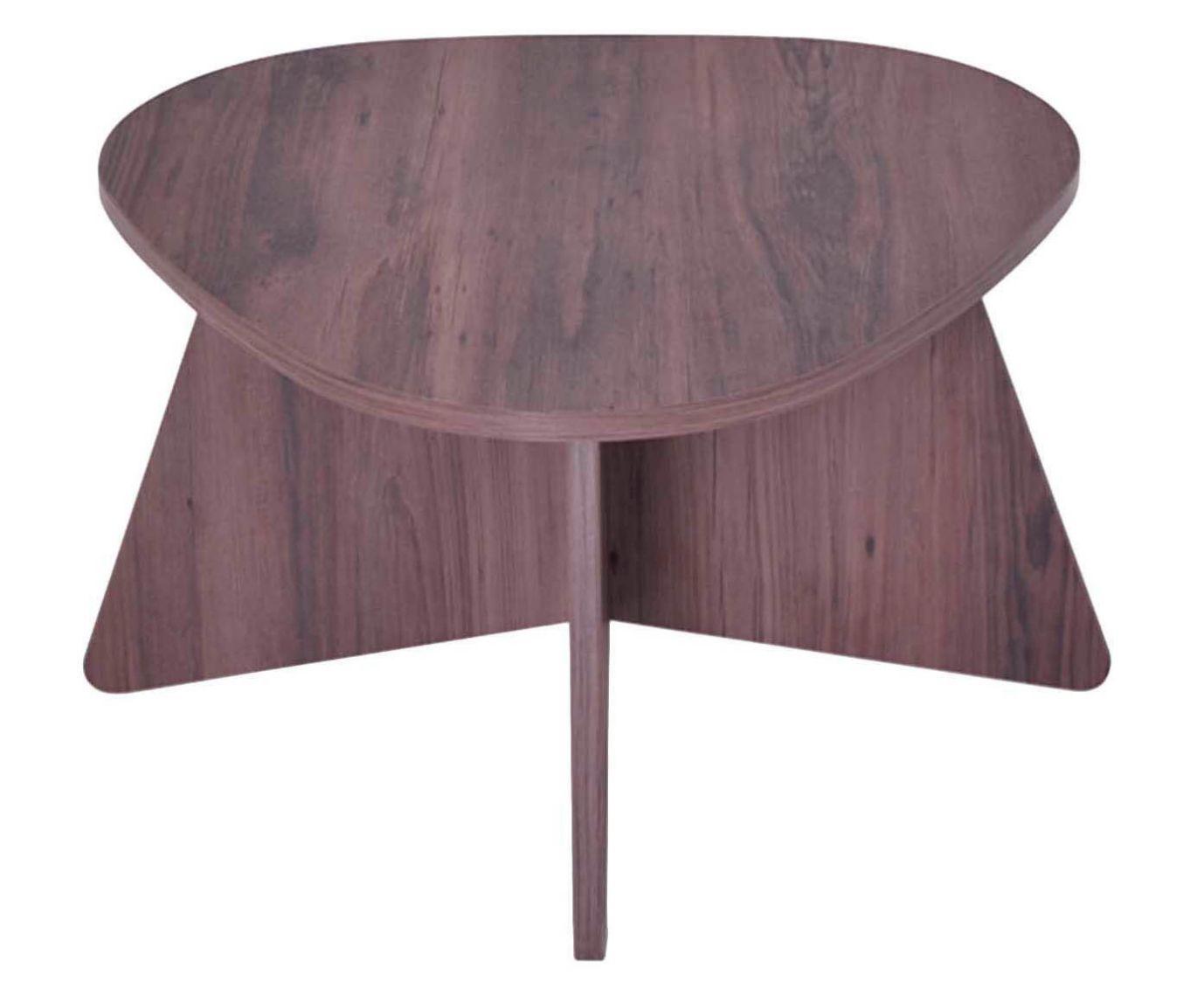Mesa de Centro Munique Kaffee - 62x60cm | Westwing.com.br