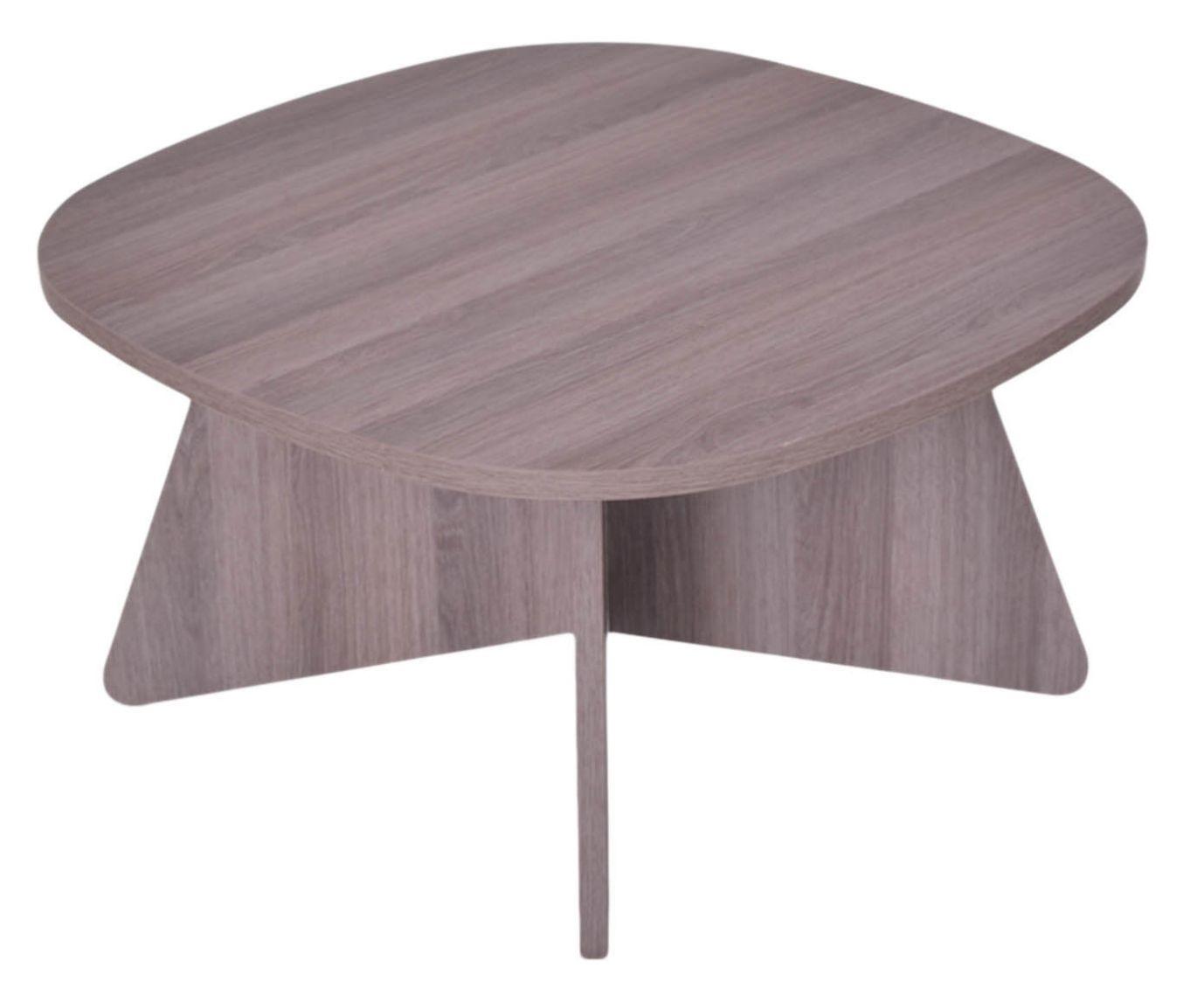 Mesa de Centro Quadra Oak - 65x65cm | Westwing.com.br