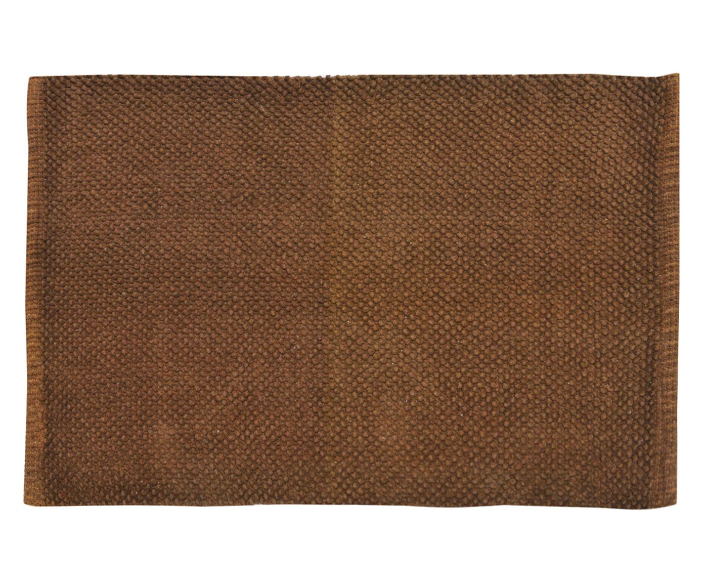 Tapete Indiano Saraswati Marrom - 60x90cm | Westwing.com.br