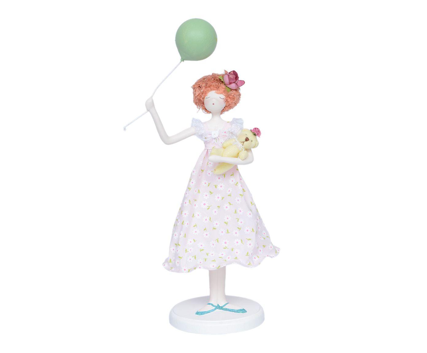 Escultura Menina com Balão   Westwing.com.br