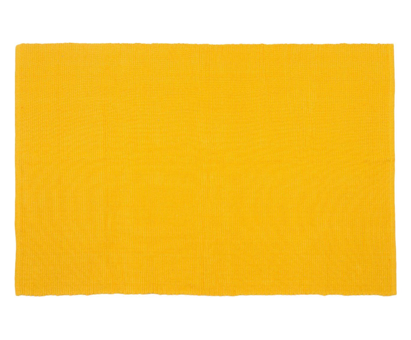Tapete Indiano Mahavidya Amarelo - 120x180cm | Westwing.com.br