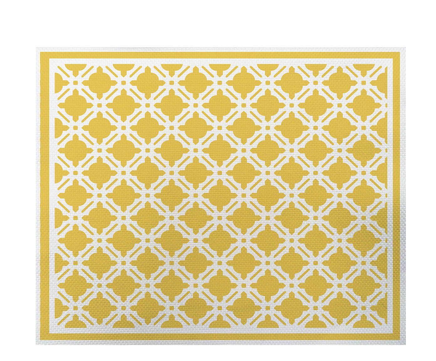 Lugar Americano Treliça Amarelo - 35x45cm | Westwing.com.br