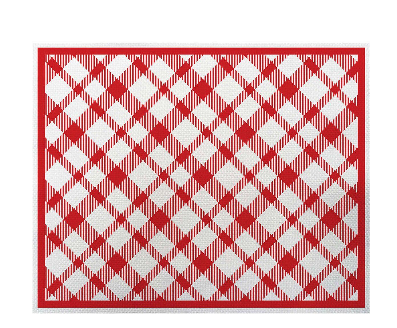Lugar Americano Picnic Vermelho - 35x45cm | Westwing.com.br