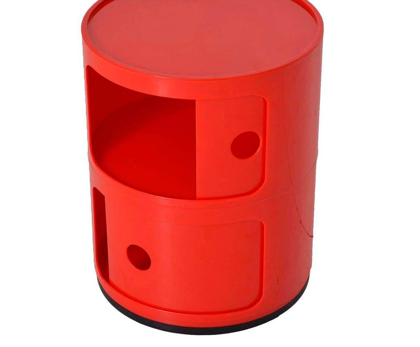 Porta-Objetos Tube - Vermelho   Westwing.com.br