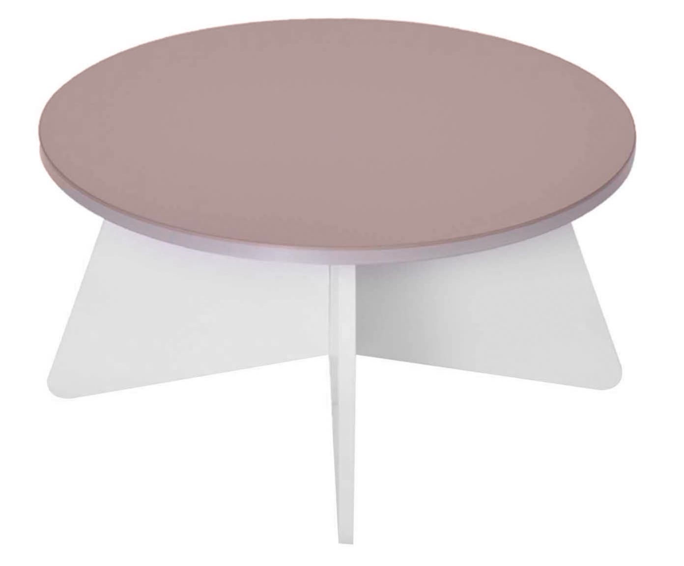 Mesa de Centro Rolo Vanille - 65cm | Westwing.com.br