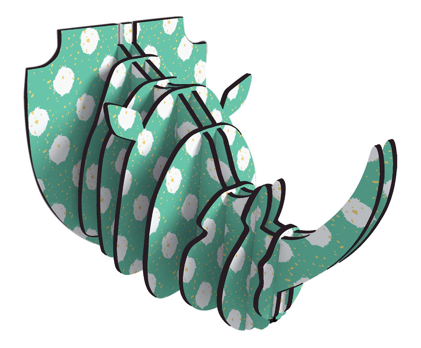 Adorno de Parede Rhino Ísis   Westwing.com.br