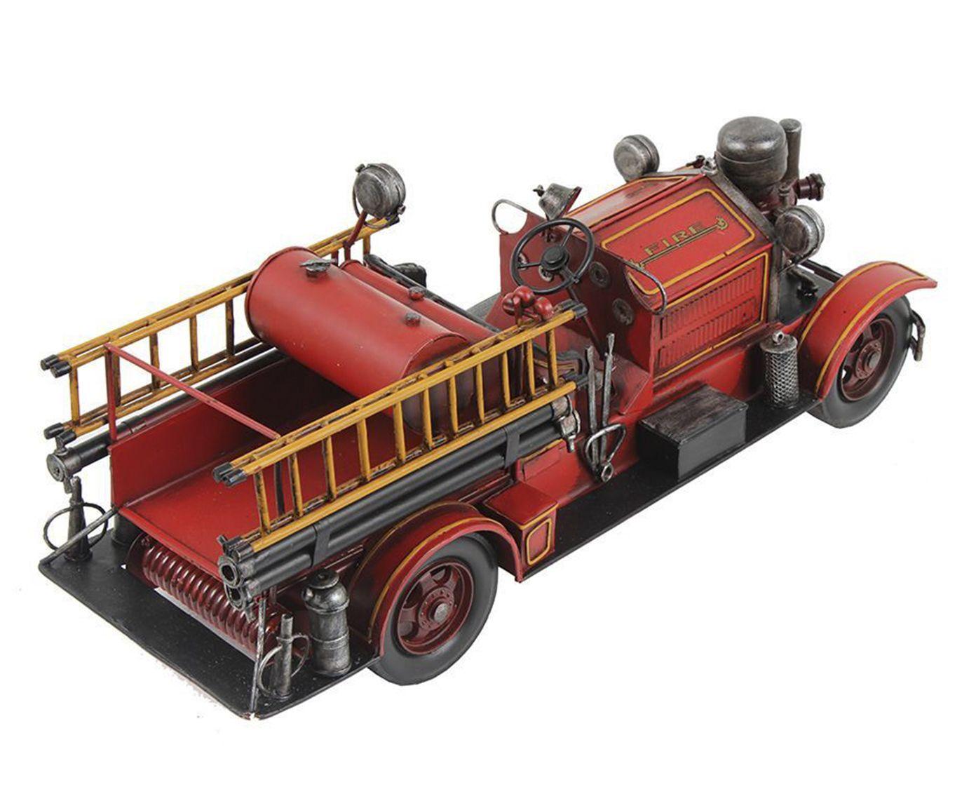 Miniatura Carro de Bombeiros Oldway | Westwing.com.br