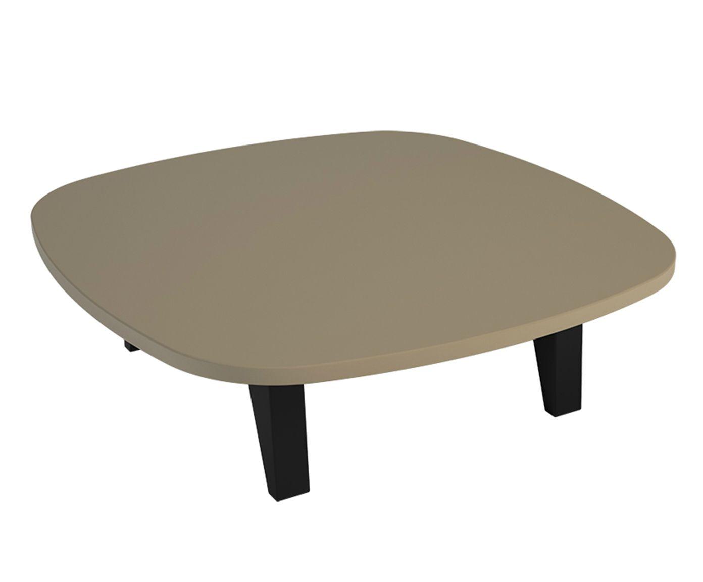 Mesa de Centro Quadra Nude - 65x65cm | Westwing.com.br