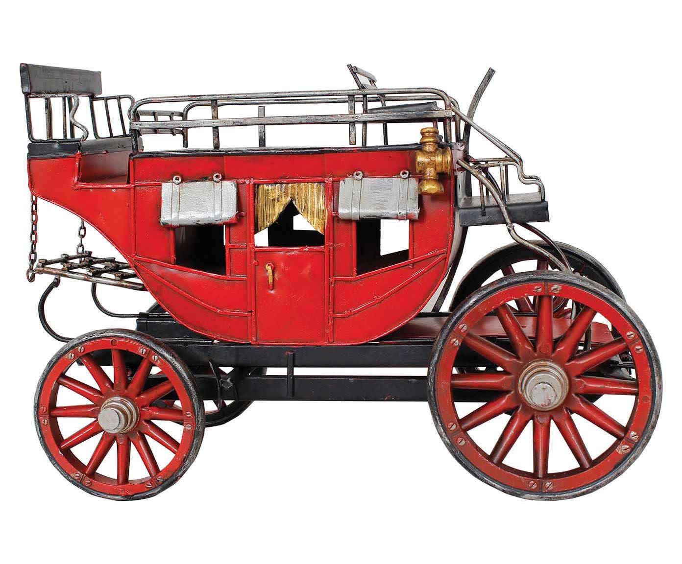 Miniatura Carruagem Oldway   Westwing.com.br