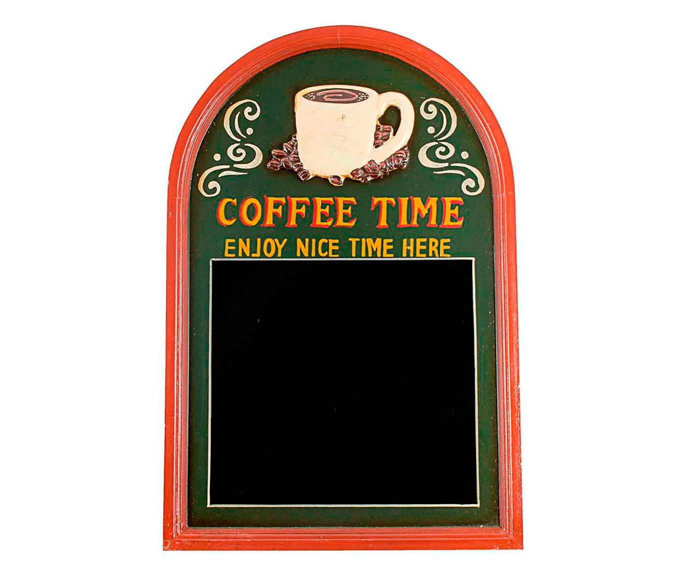 Quadro Negro Coffee Time Oldway - 40x60cm   Westwing.com.br