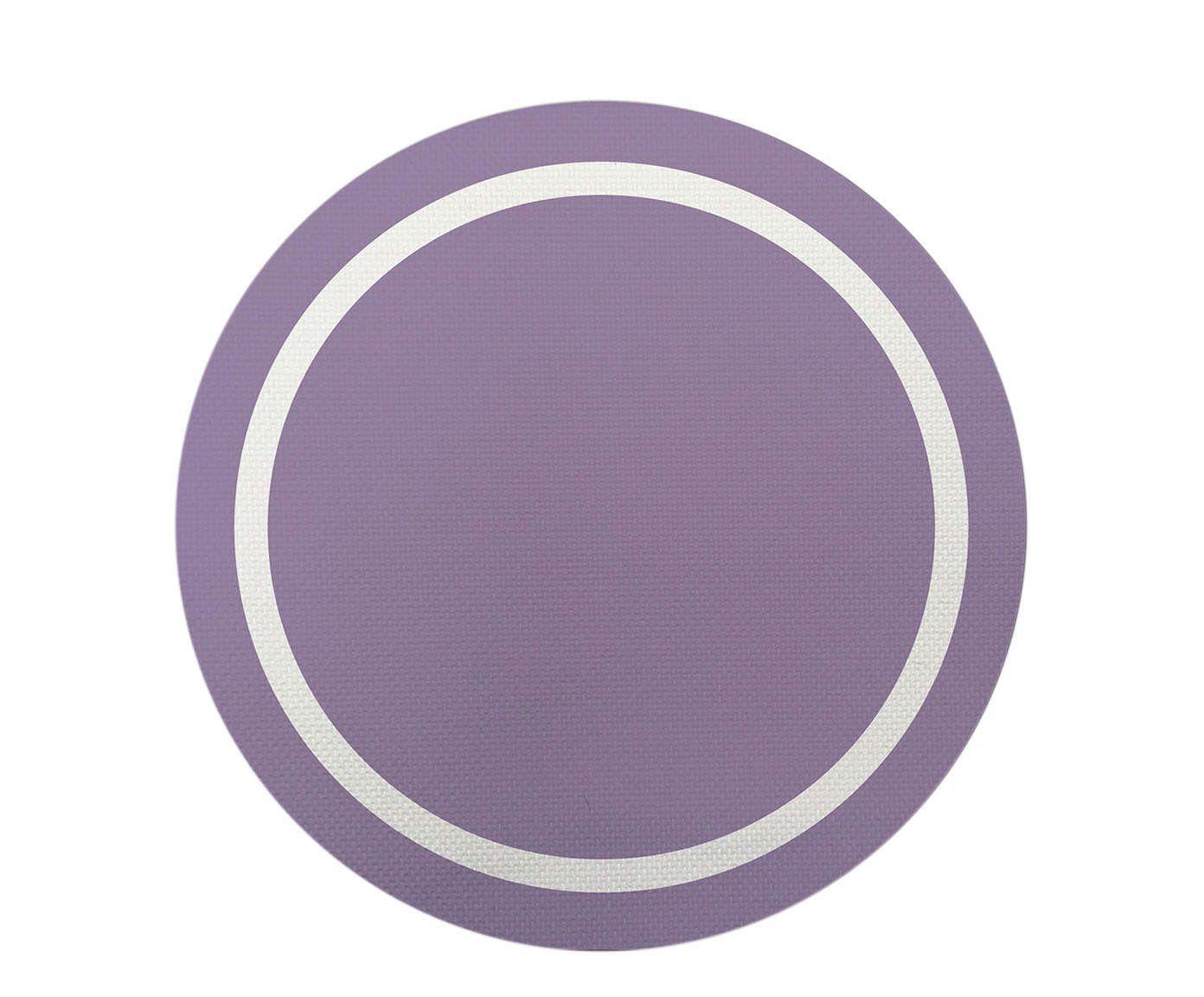 Sousplat Basic Lilás - 36cm | Westwing.com.br