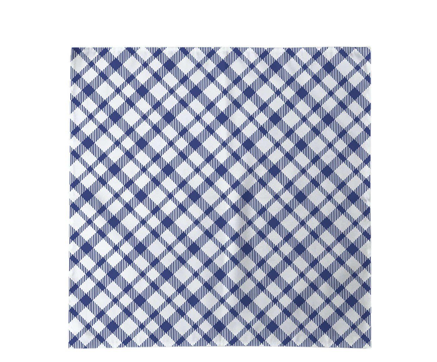 Guardanapo Picnic Azul - 45x45cm | Westwing.com.br