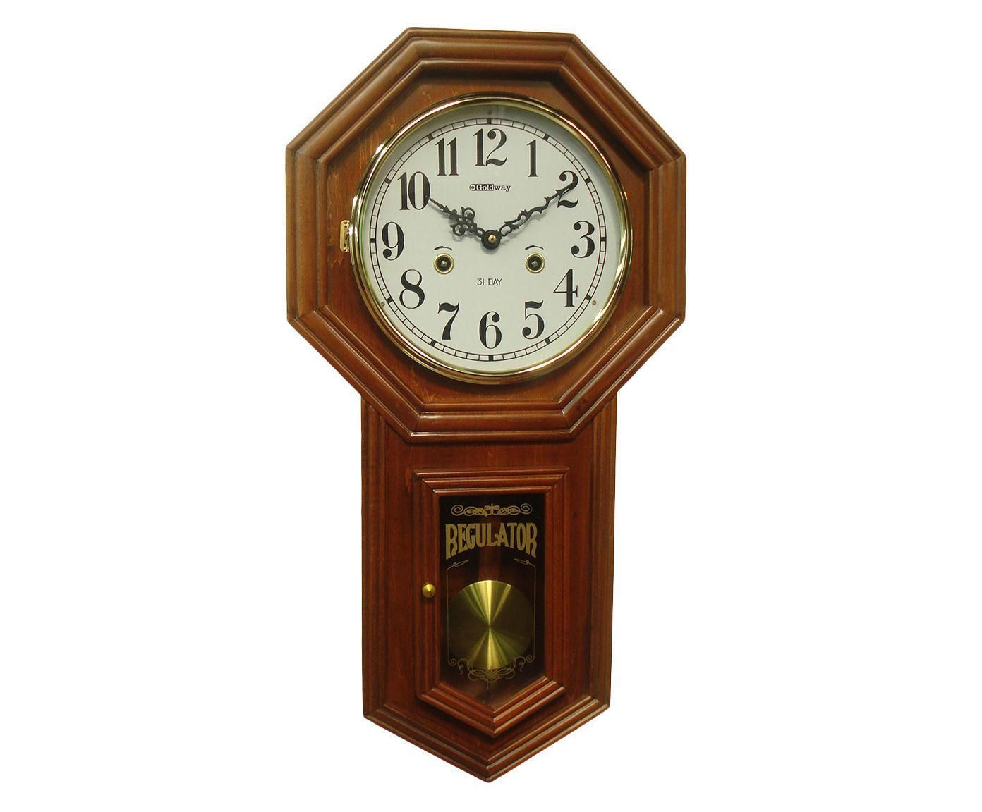 Relógio de Parede Regulator Goldway   Westwing.com.br