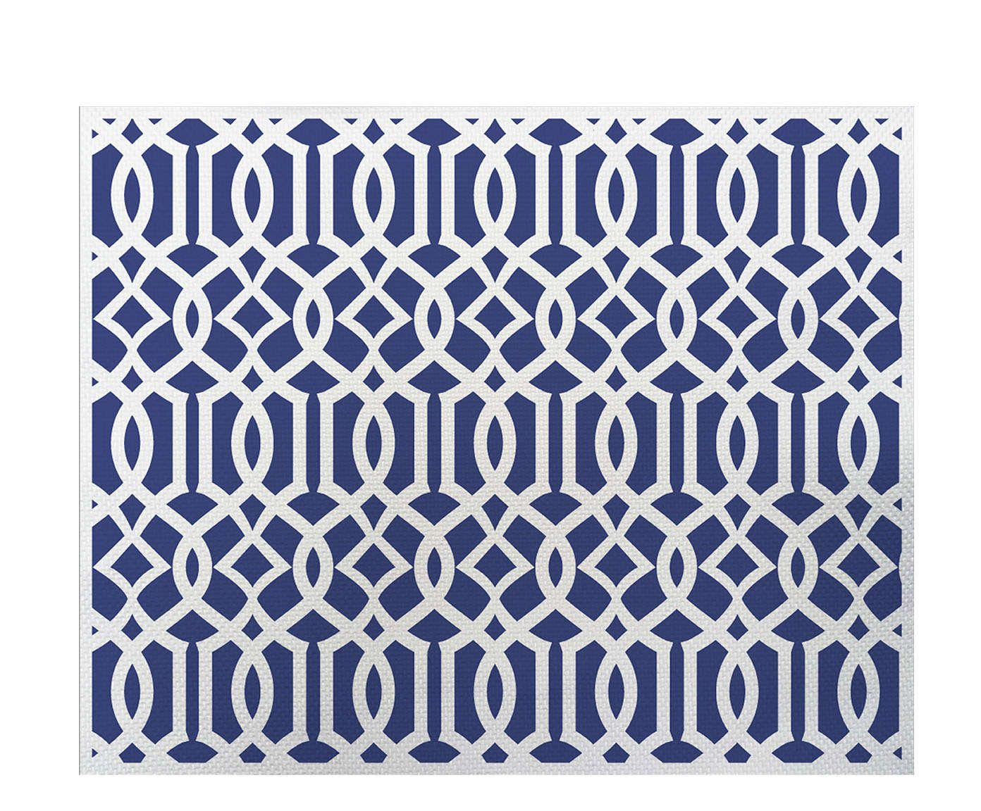 Lugar Americano Mallorca Azul - 35x45cm | Westwing.com.br