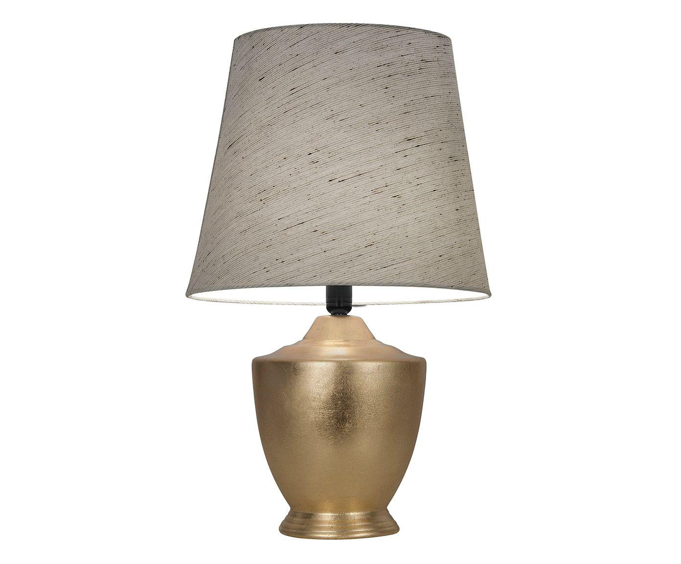 Abajur Princi Folheado a Ouro Bivolt - 68cm | Westwing.com.br