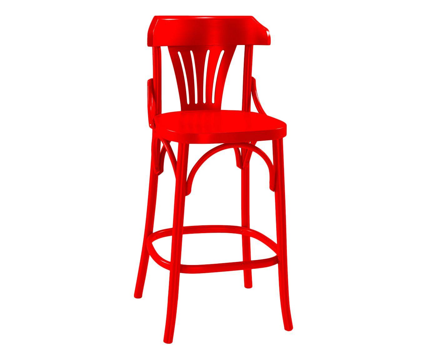 Banqueta Opzione - Vermelha   Westwing.com.br