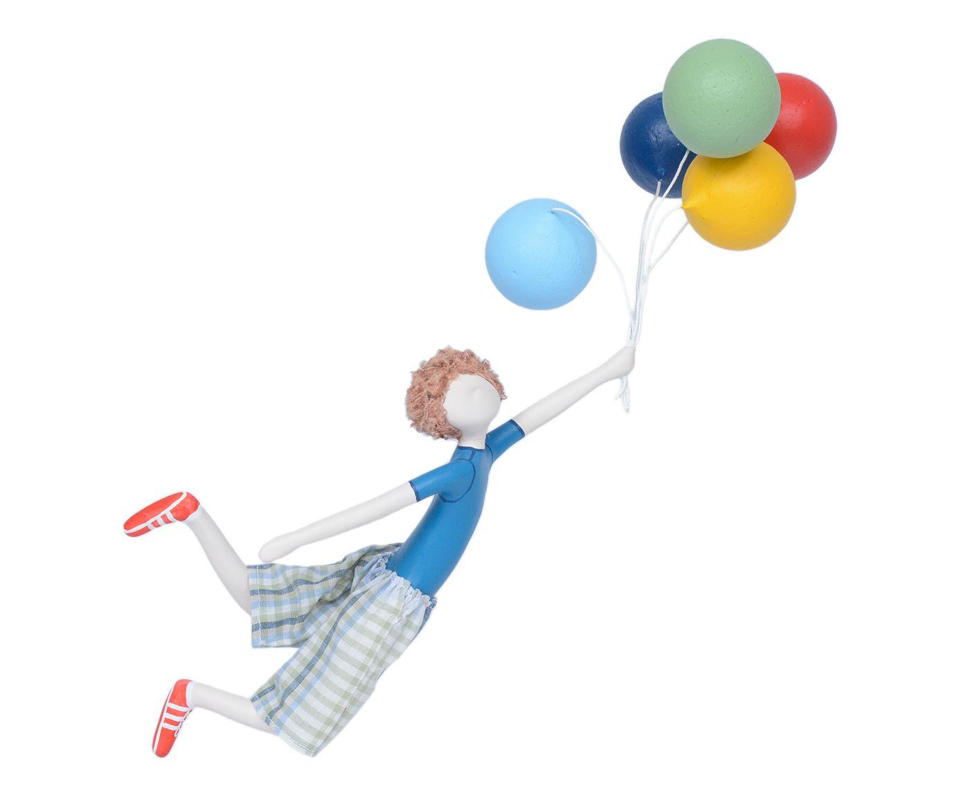 Escultura Menino com Balão Voando | Westwing.com.br