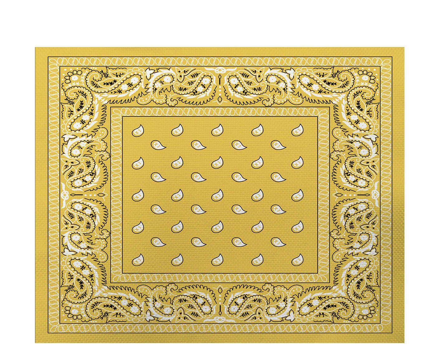 Lugar Americano Bandana Amarelo - 35x45cm | Westwing.com.br