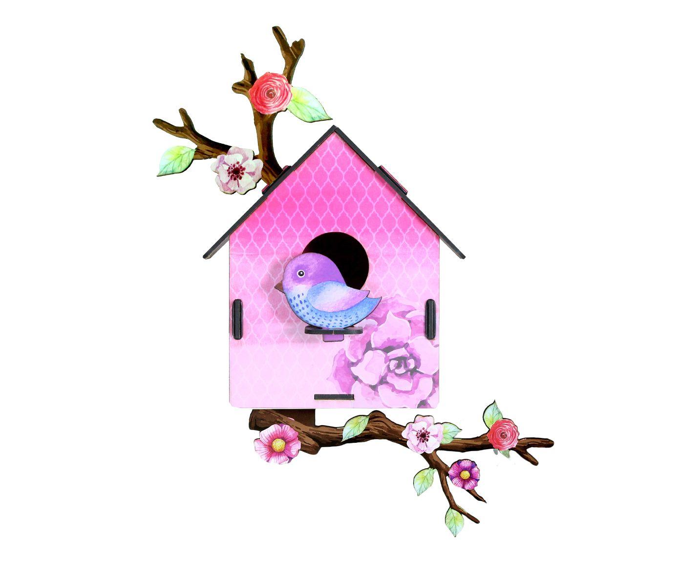Adorno Casa de Passarinho Adele   Westwing.com.br