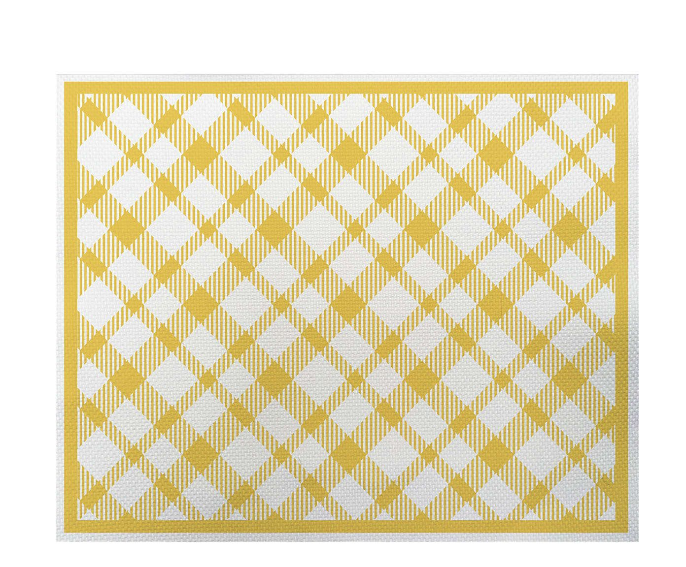 Lugar Americano Picnic Amarelo - 35x45cm | Westwing.com.br